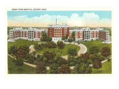 Henry Ford Hospital, Detroit, Michigan--Art Print