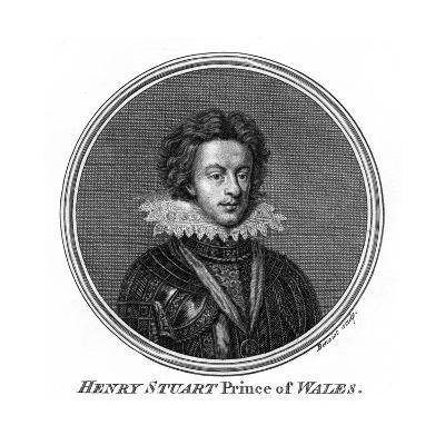 Henry Frederick Stuart, Prince of Wales- Benoist-Giclee Print