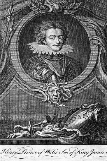 Henry Frederick Stuart, Prince of Wales--Giclee Print