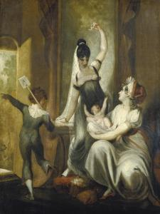 A Mother with Her Children in the Country, 1806-07 by Henry Fuseli