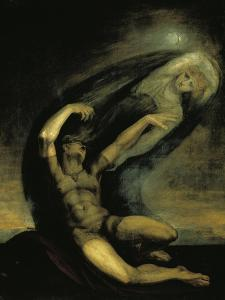 Achilles Trying to Grasp at the Shade of Patroclus, 1803 by Henry Fuseli