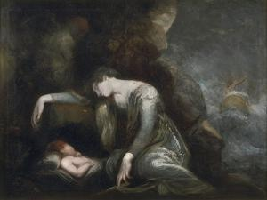 Danaë and Perseus on Seriphos, 1785-90 by Henry Fuseli
