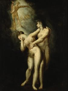 Expulsion from Paradise by Henry Fuseli