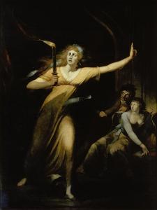 Lady Macbeth, 1784 by Henry Fuseli