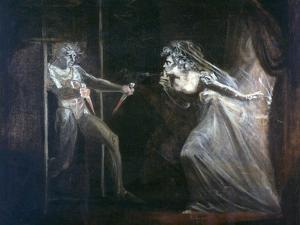 Lady Macbeth Seizing the Daggers, Exhibited 1812 by Henry Fuseli