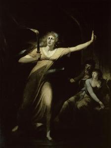 Lady Macbeth Sleepwalking, c.1783 by Henry Fuseli