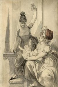Mother and Her Family in the Country, 1806-1807 by Henry Fuseli