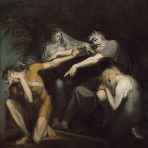 Oedipus Cursing His Son, Polynices, 1786 by Henry Fuseli