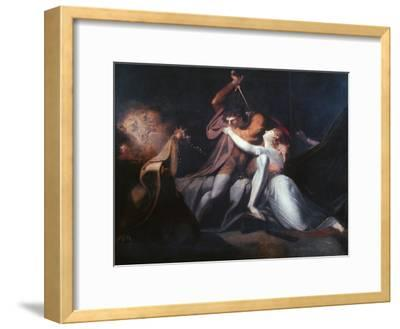 Percival Delivering Belisane..., Exhibited 1783