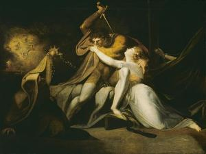 Percival Delivering Belisane from the Enchantment of Urma by Henry Fuseli