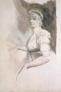 Portrait of Mrs Fuseli, C.1798 by Henry Fuseli