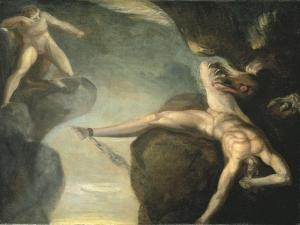 Prometheus Freed by Hercules, 1781-1785 by Henry Fuseli