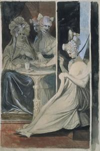The Debutante by Henry Fuseli