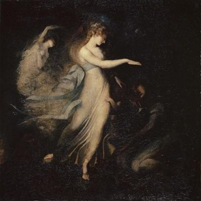 The Fairy Queen Appears to Prince Arthur, 1785-88