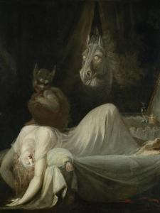The Nightmare, 1790/91 by Henry Fuseli