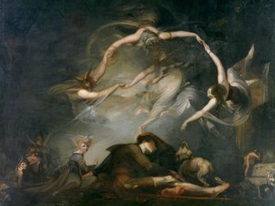 The Shepherd's Dream, from Paradise Lost, 1793 by Henry Fuseli