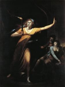 The Sleepwalking Lady Macbeth, 1781-1784 by Henry Fuseli