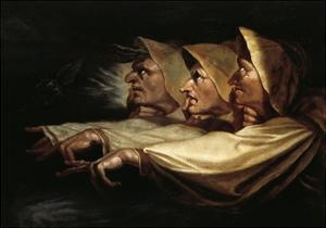 The Three Witches, 1783 by Henry Fuseli