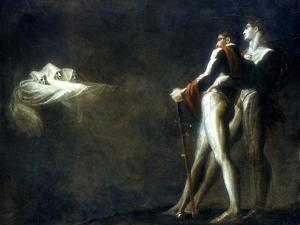 The Three Witches Appearing to Macbeth and Banquo, Late 18th Century by Henry Fuseli
