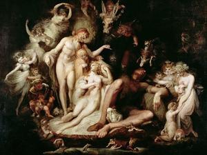 Titania's Awakening, C.1785-90 by Henry Fuseli