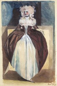 Woman in 17th Century Costume, 1791 by Henry Fuseli