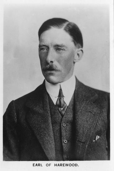 'Henry George Charles Lascelles, 6th Earl of Harewood' (1882-1947), 1937-Unknown-Photographic Print