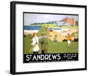 LNER, St. Andrews, c.1920 by Henry George Gawthorn