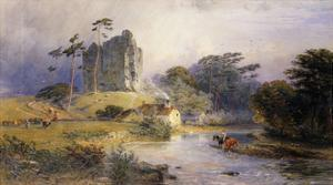 Thirlwall Castle, Northumberland by Henry George Hine