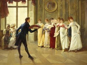 Flirtation by Henry Gillard Glindoni