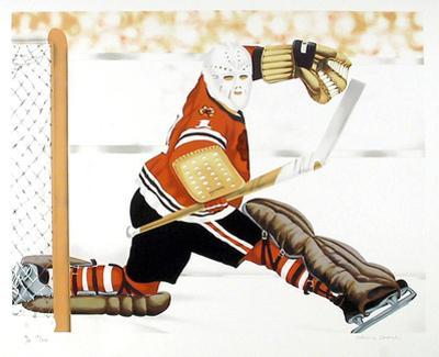 Blackhawk Goalie