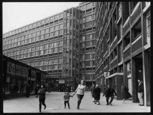 A Sheffield Shopping Centre and Flats by Henry Grant