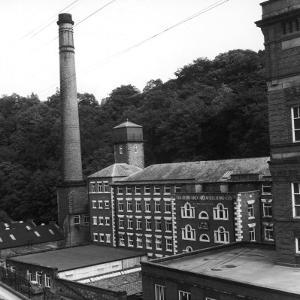 Arkwrights Cotton Mill, Derbyshire by Henry Grant