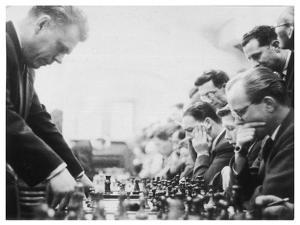 Serious Thought at a Chess Match by Henry Grant