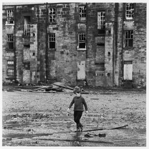 Solitary Boy, Glasgow by Henry Grant