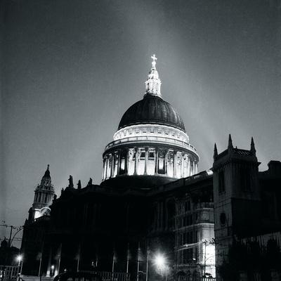 St Paul's Cathedral By Floodlight, 1951