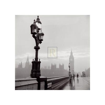 Westminster Bridge and Houses of Parliament, c.1962