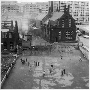 Working Class Children in Sheffield, South Yorkshire, Playing Out of Doors by Henry Grant