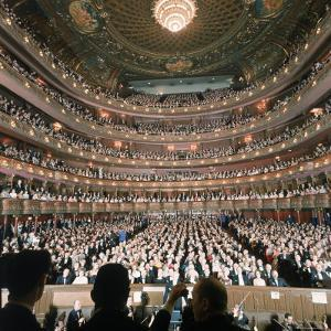 Audience at Gala on the Last Night in the Old Metropolitan Opera House by Henry Groskinsky