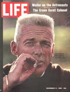 Former Green Beret Col. Robert Rheault, Smoking Cigarette, November 14, 1969 by Henry Groskinsky