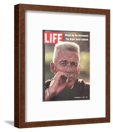Former Green Beret Col. Robert Rheault, Smoking Cigarette, November 14, 1969