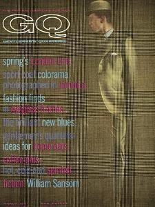 GQ Cover - March 1961 by Henry Haberman