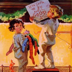 """We Bin Awful Good,""December 1, 1936 by Henry Hintermeister"