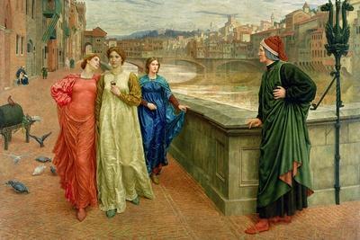 Dante and Beatrice, 1884