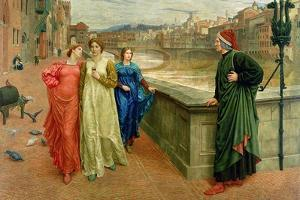 Dante and Beatrice, 1884 by Henry Holiday