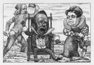 The Banker Goes Mad with Fright by Henry Holiday