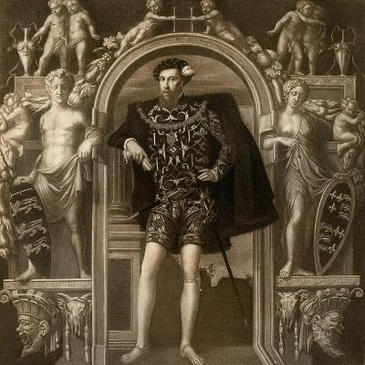 Henry Howard, Earl of Surrey, 1546-Guillim Scrots-Giclee Print