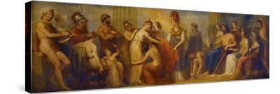 Pandora, Whom the Assembled Gods, Endowed with All their Gifts...', 1834 (Oil on Mahogany Panel)