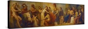 Pandora, Whom the Assembled Gods, Endowed with All their Gifts...', 1834 (Oil on Mahogany Panel) by Henry Howard