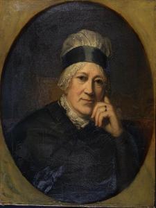 Portrait of Georgiana Poyntz, Dowager Countess Spencer, C.1798-1810 by Henry Howard