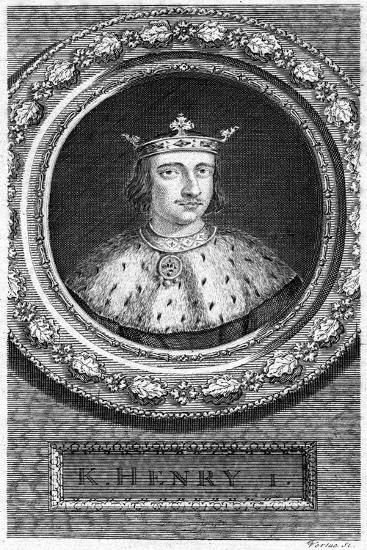 Henry I, King of England-George Vertue-Giclee Print